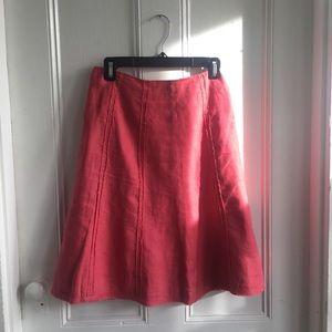 Beautiful summer linen skirt